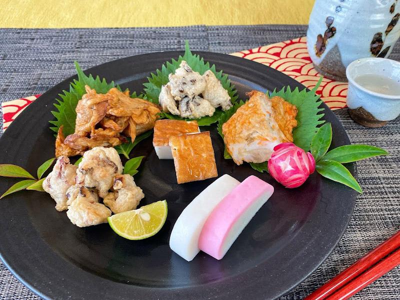 満彩 かまぼこ天ぷら盛り付けイメージ